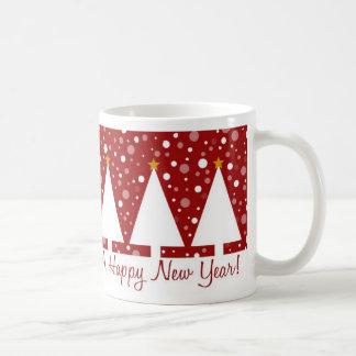 Red Trees Xmas - Mug