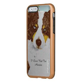 Red Tri Australian Shepherd Incipio Feather® Shine iPhone 6 Case