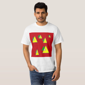 Red Triangles T-Shirt