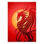 Red Tribal Phoenix