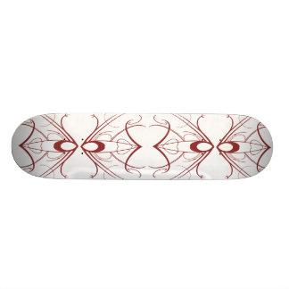 Red Tribal Skate Board Decks