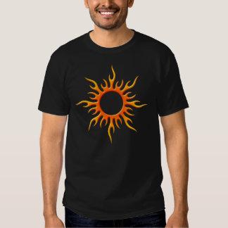 Red Tribal Sun T-Shirt