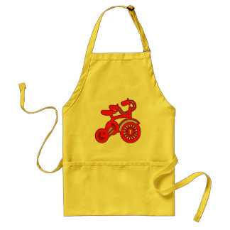 Red Tricycle 1st Birthday Standard Apron