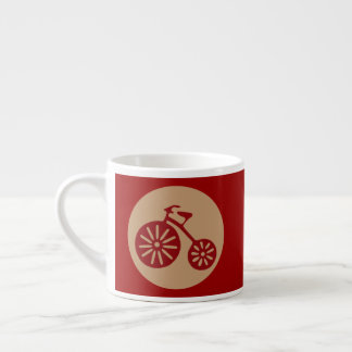 Red Tricycle Espresso Cup