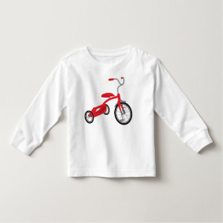 Red Tricycle Graphic Toddler T-Shirt