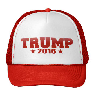 Red Trump 2016 Hats