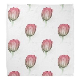 Red tulip bandana