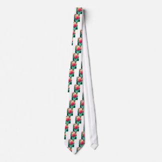 Red Tulip - Customizable! Tie