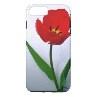 Red Tulip in Full Bloom iPhone 7 Plus Case