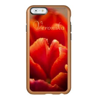 Red tulip incipio feather® shine iPhone 6 case