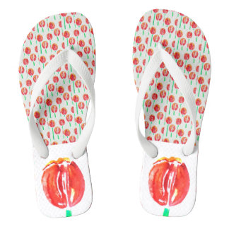 Red Tulip Shoes Thongs