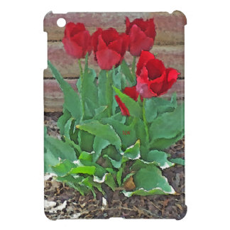 Red Tulips Flowers Petals Bloom by SD Kelley iPad Mini Cases