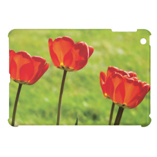 Red Tulips Photography iPad Mini Cover