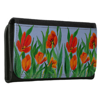 Red Tulips Wallet