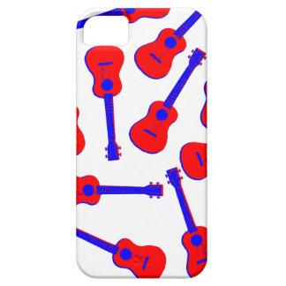 Red Ukulele iPhone 5 Cover