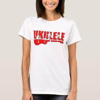 red ukulele T-Shirt