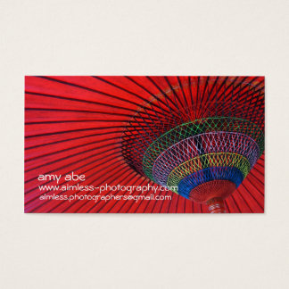 Red Umbrella Business Card