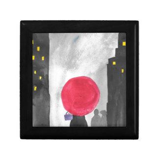 Red Umbrella Gift Box
