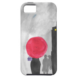 Red Umbrella iPhone 5 Case