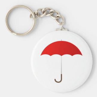 Red Umbrella Key Ring