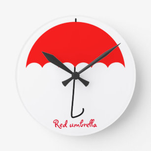 Red Umbrella Art Amp Wall D 233 Cor Zazzle Com Au