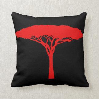 Red Umbrella Tree Cushion