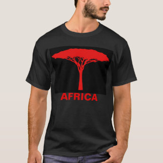 Red Umbrella Tree T-Shirt
