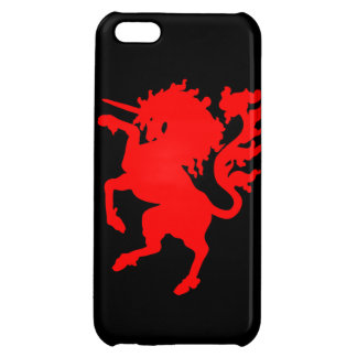 Red Unicorn iPhone 5C Covers