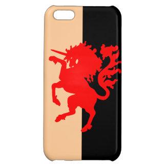 Red Unicorn iPhone 5C Cases