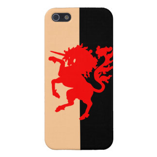 Red Unicorn Cases For iPhone 5