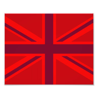 Red Union Jack Photo