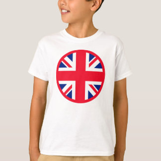 Red Union Jack Roundel T-Shirt
