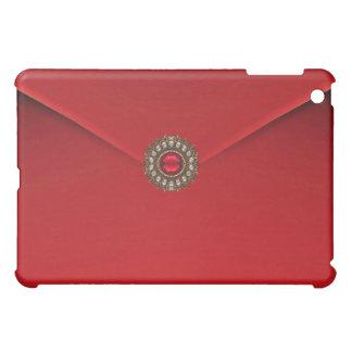 Red Velvet Black Jewel Case For The iPad Mini