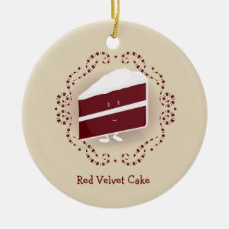 Red Velvet Cake   Ornament