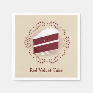 Red Velvet Cake | Paper Napkin