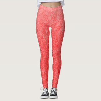 Red  Velvet Cake Plush Leggings
