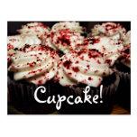 Red Velvet Cupcake postcard