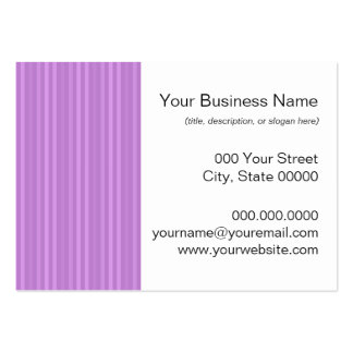 Red Vertical Stripes Pattern Business Card Template