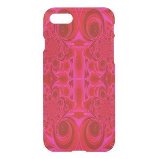 Red Vibrant Swirl Phone Case