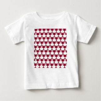 Red Victorian Lace Baby T-Shirt