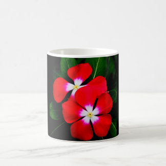 """RED VINCA"" 11 oz. COFFEE MUG"