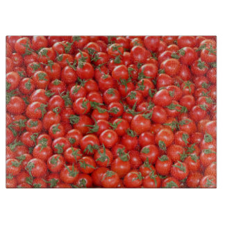 Red Vine Tomatoes Cutting Board