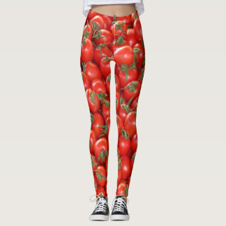 Red Vine Tomatoes Leggings