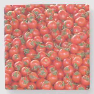 Red Vine Tomatoes Stone Coaster
