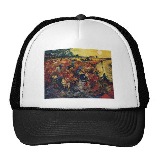Red Vineyard, Van Gogh, 1888 Hats