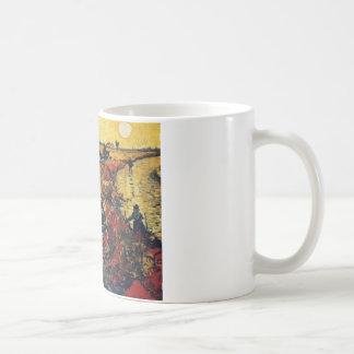 Red Vineyard, Van Gogh, 1888 Mug