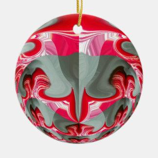 Red Vintage Hakuna Matata round gifts.jpg Ornaments