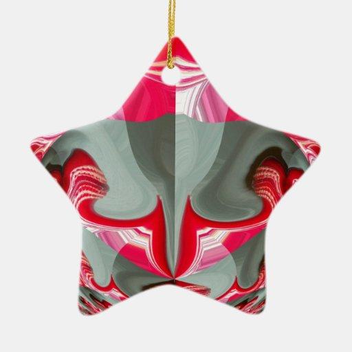 Red Vintage Hakuna Matata round gifts.jpg Christmas Tree Ornament