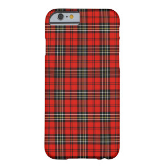 Red Vintage Plaid Barely There iPhone 6 Case
