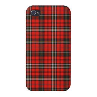 Red Vintage Plaid iPhone 4 Case